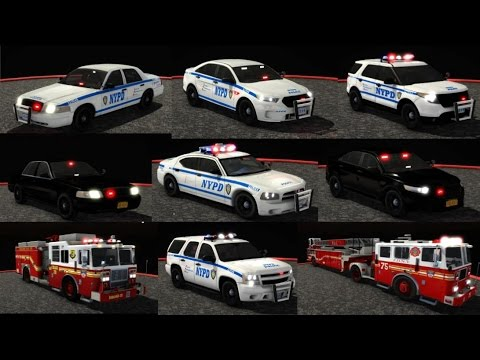 EmergeNYC Interactive Demo Update: NYPD, Highway Patrol, ESU, K9 | Smart Siren With Rumbler | FDNY