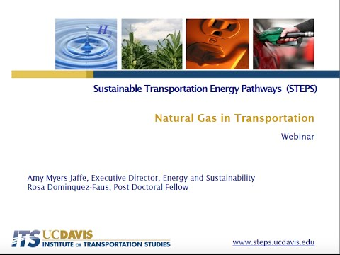 Natural Gas Webinar 1:  Exploring the Role of Natural Gas in U.S. Trucking