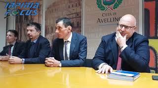 Il sindaco Ciampi presenta il nuovo Segretario generale del Comune di Avellino Vincenzo Lissa