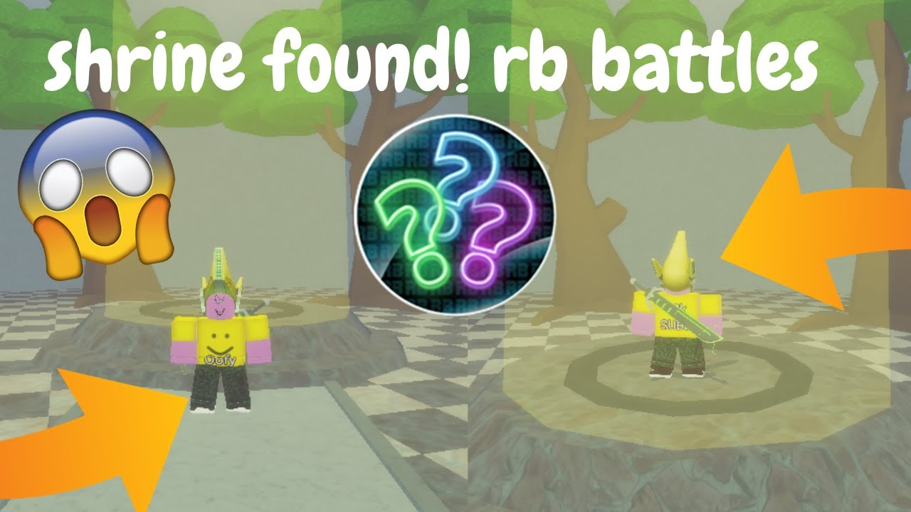 Download HOW TO FIND THE SWORD SHRINE IN RB BATTLES! RB BATTLES ROBLOX EVENT