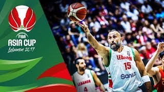 Lebanon - Offensive Highlights - FIBA Asia Cup 2017
