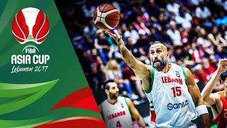Lebanon - Offensive Highlights - FIBA Asia Cup 2017