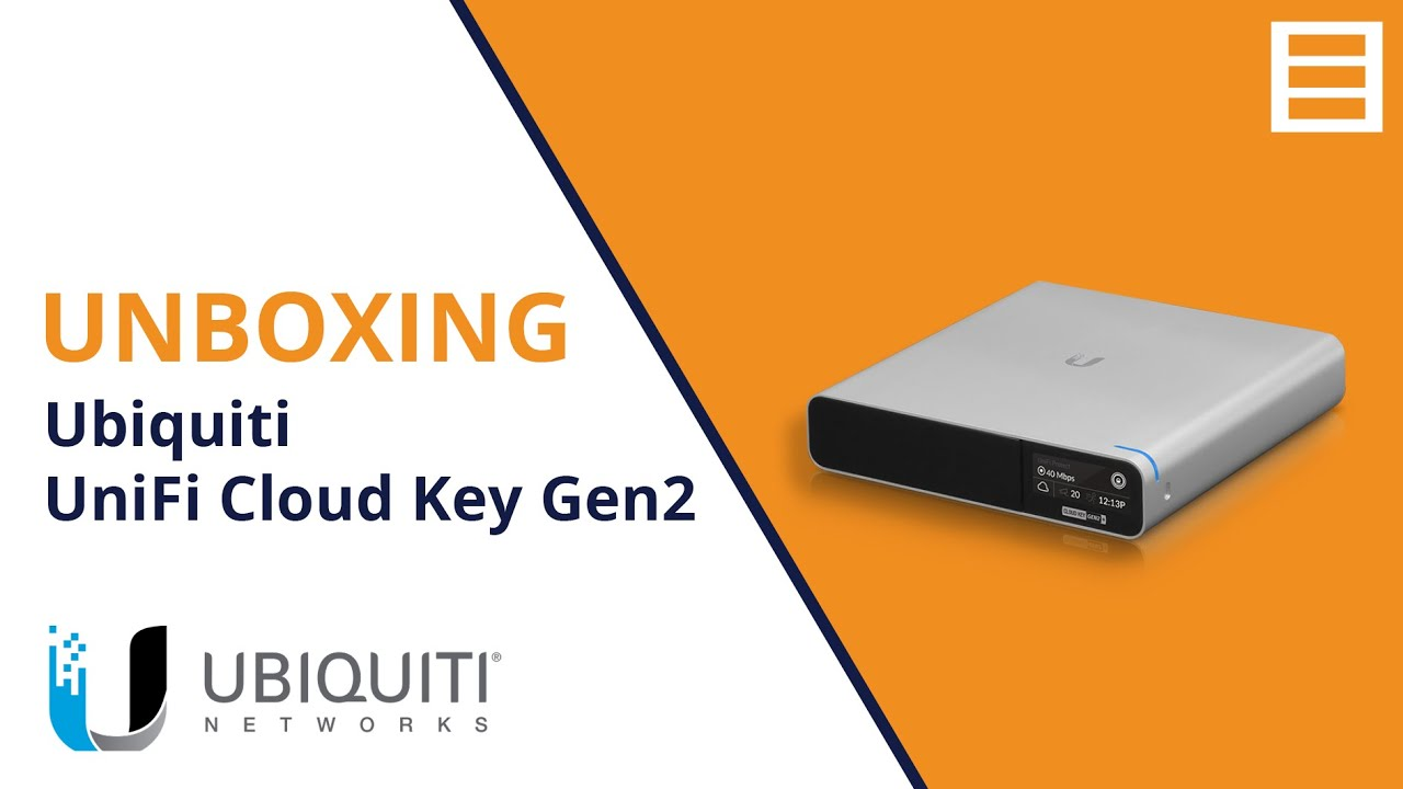 Unboxing: Ubiquiti UniFi Cloud Key Gen2 Plus