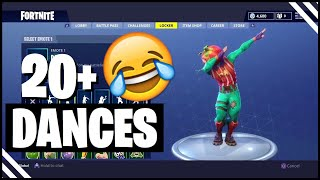 Fortnite TOMATO HEAD Showcased With 20+ Dances! Tomato Head Fortnite Skin!