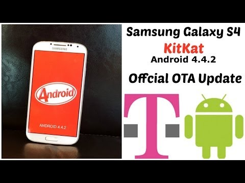 Samsung Galaxy S4 Official Android 4.4.2 KitKat Update OTA T-Mobile