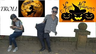 Troll Halloween - Lưu Tuấn Anh cut người làm đôi và cái kết bị oánh :D