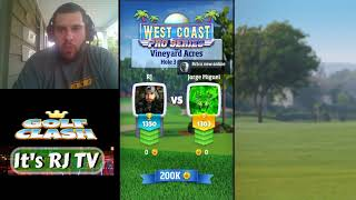 Golf Clash Tour 7 Help and Game Play With you