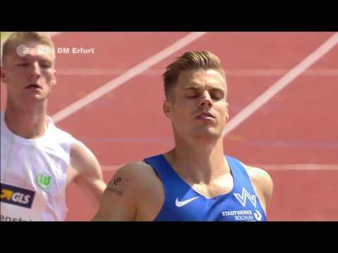 DM Erfurt 2017 - 200m Männer Vorläufe