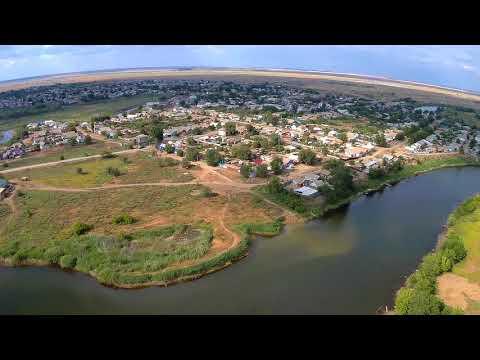 Новоузенск Саратовская область с высоты (МОСТ)