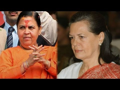 Uma Bharti to challenge Congress President Sonia Gandhi?