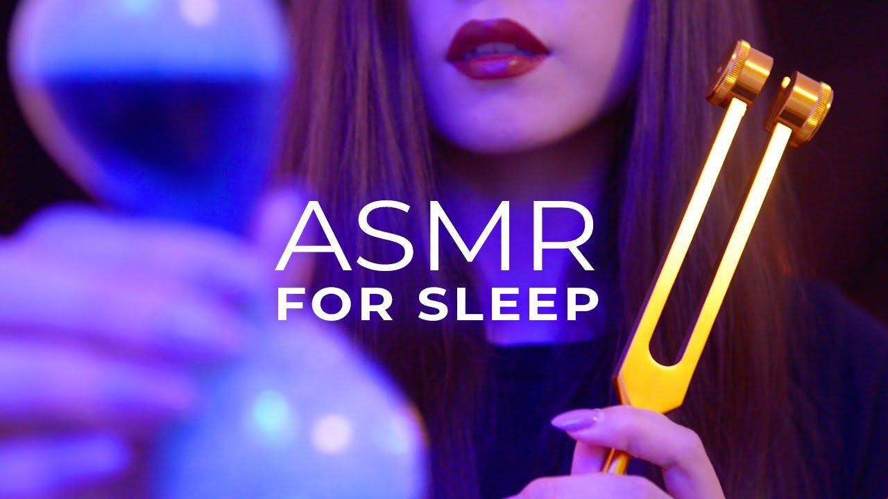 ASMR Sleep Clinic Personal Attention | Scalp Massage, Hair Wash, Visual Triggers etc (No Talking)