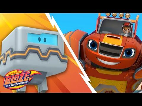Blaze vs Wrecking Robots | Robot Power | Blaze and the Monster Machines