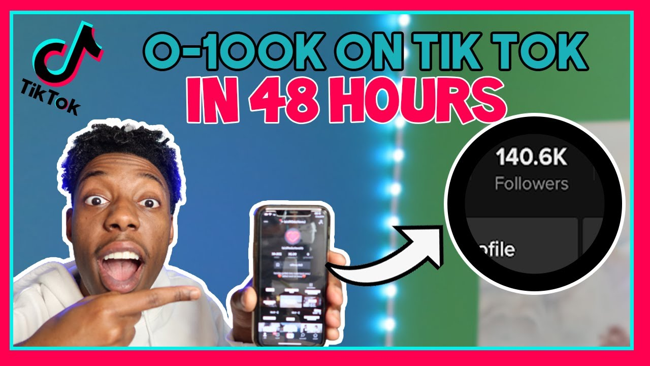 Download How To Go From 0-100k Followers on Tik Tok in 48 Hours! (Step-By-Step Case Study)