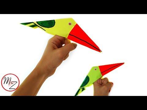Finger toys for kids DIY : Paper bird making tutorial | Paper finger puppets | Easy paper crafts