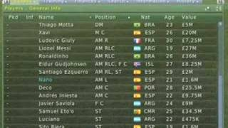 Football Manager 2007 XBox tutorial part 3
