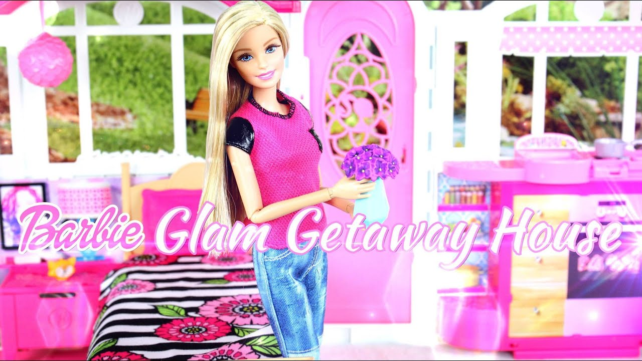 doll review barbie glam getaway house playsets toys. Black Bedroom Furniture Sets. Home Design Ideas