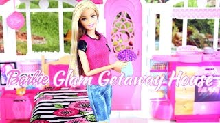 doll review barbie glam getaway house playsets toys