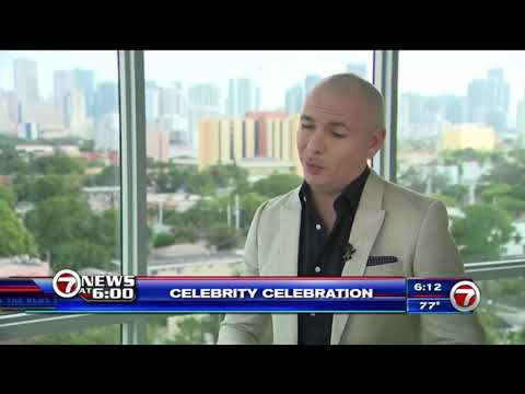 Pitbull Interview About New Year's Eve 2018