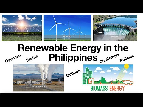 Renewable energy in the Philippines - Part 1
