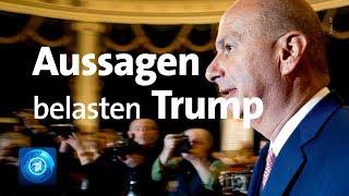 US-Präsident Trump gerät immer stärker unter Druck