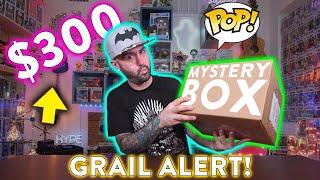 Insane $300 Funko Pop Mystery Box Unboxing - GRAIL ALERT!!!
