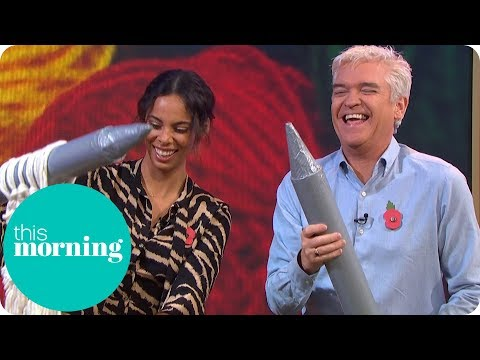 Phillip and Rochelle Try Giant Knitting | This Morning