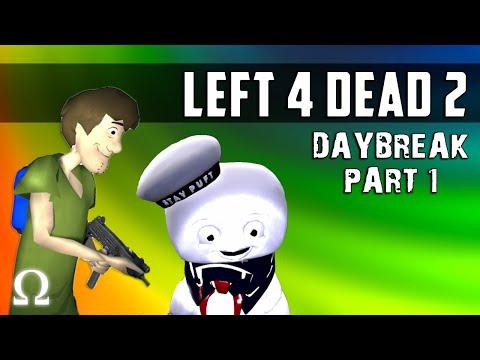 SCOOBY SNACKS & MARSHMALLOW PUFFS!   Left 4 Dead 2 Daybreak Map Part 1 Ft. Vanoss, Delirious, Moo