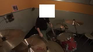 藍坊主の降車ボタンを押さなかったらのドラムコピー動画です。
