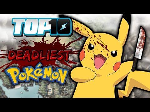 Top 10 Deadliest Pokémon