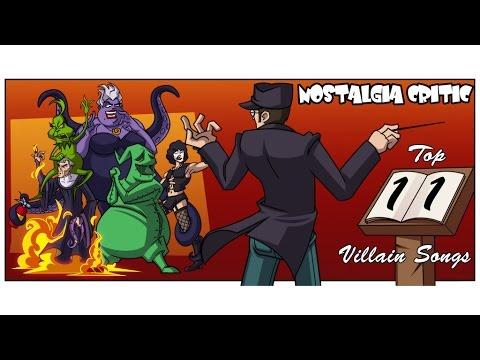 Ностальгирующий Критик - Топ 11 Злодейских песен   Nostalgia Critic - Top 11 Villain Songs (rus vo)