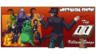 Ностальгирующий Критик - Топ 11 Злодейских песен   Nostalgia Critic - Top 11 Villain Songs (rus vo) cмотреть видео онлайн бесплатно в высоком качестве - HDVIDEO