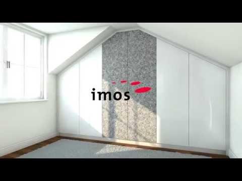imos Custom Wardrobe Under Angled Ceiling