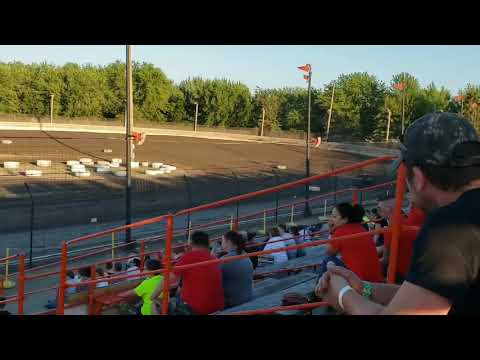 Sycamore speedway racing July 12, 2019 Compact Qualifying