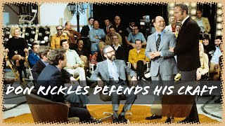 Don Rickles Disarms Critics With Humor & Wit!