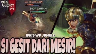Vainglory 5v5 - Ep 57: HERO PALING GESIT! |SOLOQ RANK| IDRIS WP JUNGLE [Update 3.4]