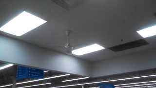 HRS Ceiling Fans in a Walmart/Subway