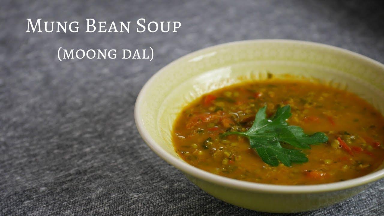 Mung Bean Soup Recipe Moong Dal