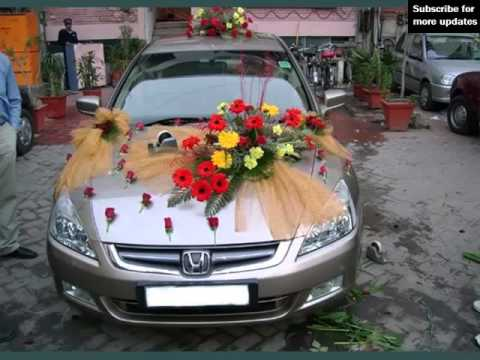 Wedding car decoration back collection of decor picture ideas wedding car decoration back collection of decor picture ideas junglespirit Gallery