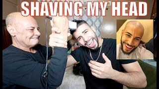 SHAVING MY HEAD BALD!! **BIGGEST MISTAKE**