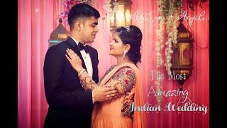 The Best Wedding trailer | Aditya + Anjali | The Candid Log | Full HD - 1080p