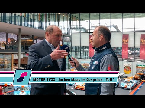 MOTOR TV22 - Rennfahrer Legende Jochen Maas im Gespräch - Teil 1