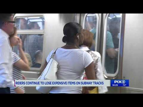 Dan Blackman - More and more riders are losing their Airpods on the NY subway