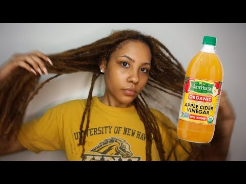 11 YEAR LOCS | ACV RINSE 1ST TIME RESULTS! | Highly Reccomend