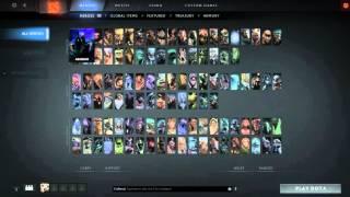 Dota 2 Reborn Hero List Filter
