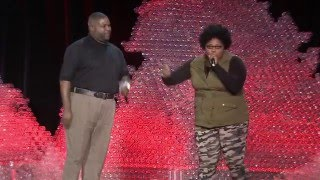 A beatboxing lesson from a father-daughter duo | Nicole Paris and Ed Cage