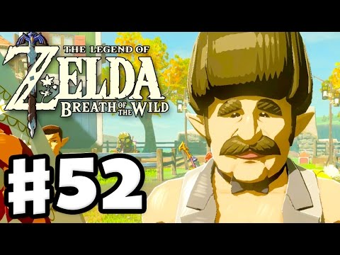 Tarrey Town Wedding - The Legend of Zelda: Breath of the Wild - Gameplay Part 52