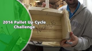 Pallet Up Cycle Challenge 2014 - Ep1