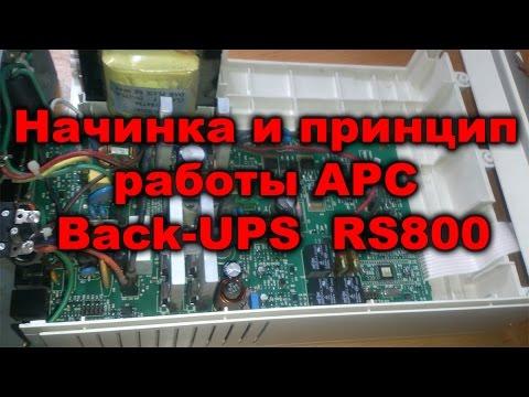 Устройство да альтернат работы APC Back-UPS RS800