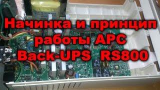 Устройство и принцип  работы APC Back-UPS RS800