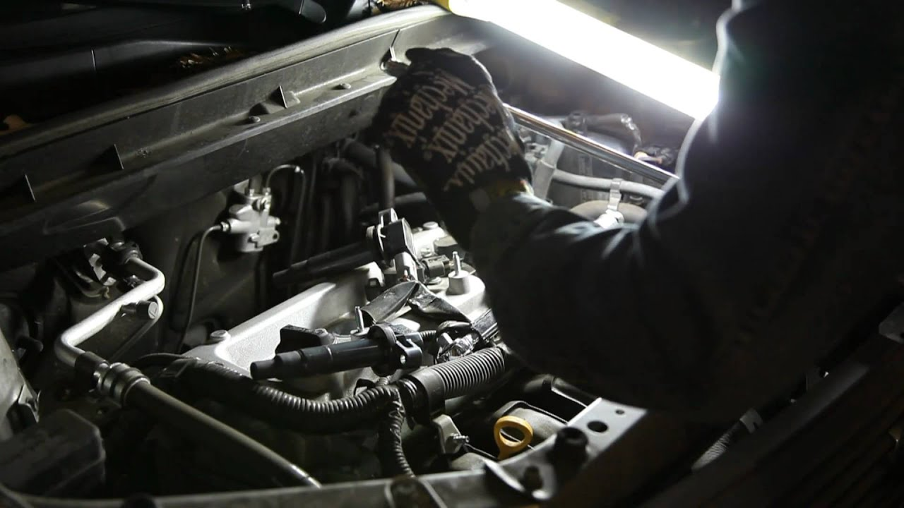 How To Spark Plug Change On A Scion Xb In Hd 1080p Youtube 2008 Xd Wiring Diagrams